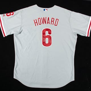 2006 Ryan Howard autographed Philadelphia Phillies...