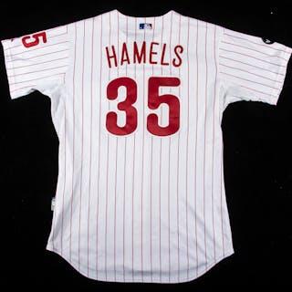 2007 Cole Hamels autographed Philadelphia Phillies...