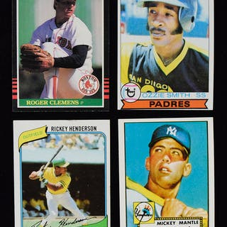 Lot Of 5 Baseball Card Sets From 1979 1985 Vg Nmmt