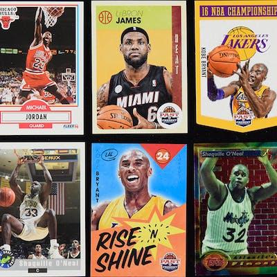 Lot of (175) basketball HOFer