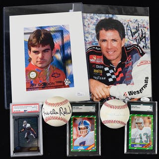91467748859e Sport memorabilia – Auktion – Alla auktioner på Barnebys.se