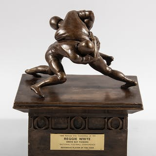 1995 Reggie White NFL Defensive Player of The Year Award...