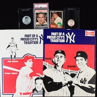 Lot of New York Yankees memorabilia