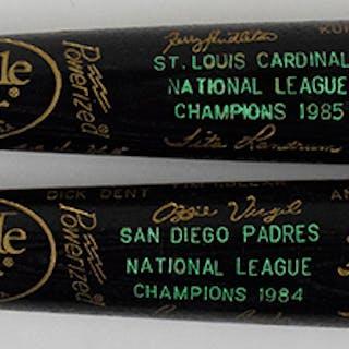 1984 Padres and 1985 Cardinals N.L