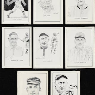 1950 W576 Callahan Hall of Fame Complete Boxed Set (62)...