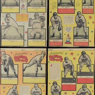 1948 Philadelphia Bulletin Stand-Ups partial set of...