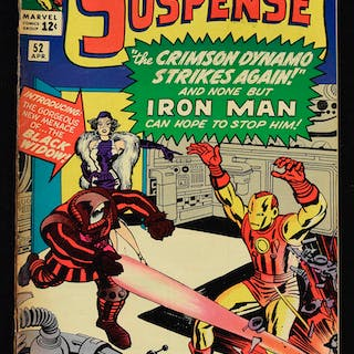 """Tales of Suspense"" issue #52 - First appearance of Black Widow (Marvel"
