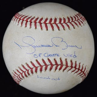 """Mariano Rivera signed and """"07 Game Used Last Out""""..."""