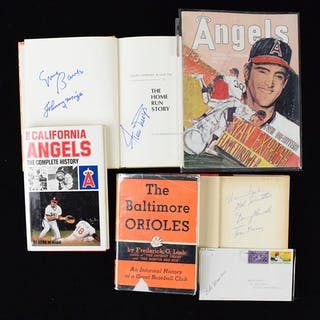 Baseball autograph lot - mainly stars and HOFers (VG-NM)