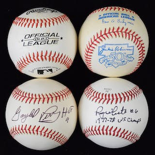 Lot of (29) signed baseballs (GD-NM)