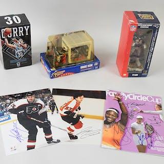 Lot of assorted sports memorabilia & autographs including...