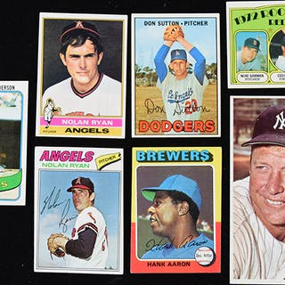 Lot of assorted baseball cards from 1964-modern (GD-MT)