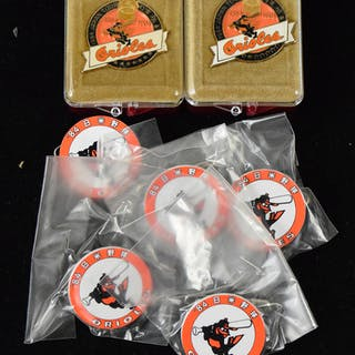 1984 Baltimore Orioles Japan Tour press pin