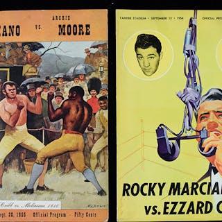 1954 Marciano vs