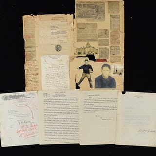 """c.1930 """"All-American Gridiron Coach"""" related letters"""