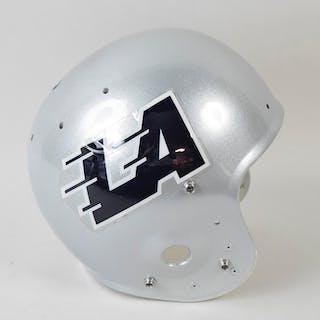 Los Angeles Express professional model USFL helmet (see description)
