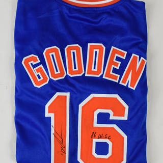 Dwight Gooden signed and inscribed New York Mets jersey - JSA (NM)