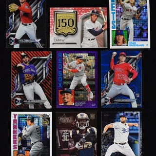 Bulk lot of nearly (3,000) cards - mainly 2019 Topps Baseball (NM-NM/MT overall)