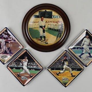 Lot of (36) Bradford Exchange baseball plates (see description)