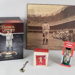Large lot of assorted baseball memorabilia