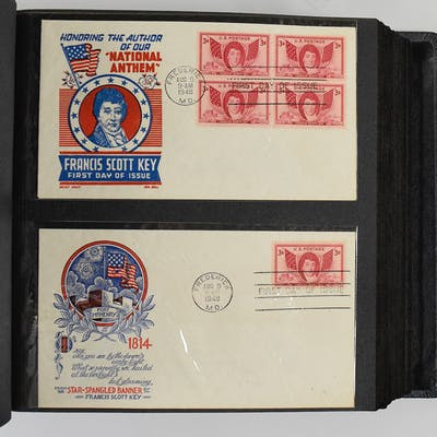 Lot of (194) first day covers mainly from 1948 (EX-NM/MT)