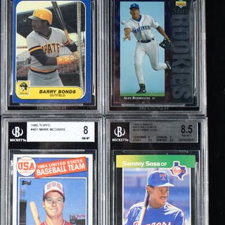 Mixed sports lot of (13) rookie cards from 1984-2016 (NM - GEM MINT)