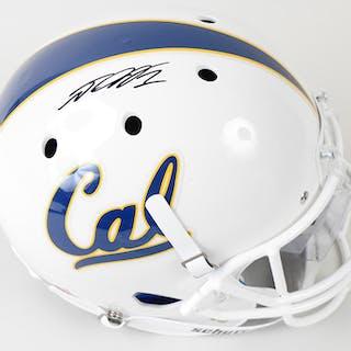 DeSean Jackson signed California Golden Bears full size helmet - JSA (NM)