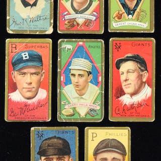 Lot of (24) 1911 T205 Gold Border cards (PR-GD) Average...