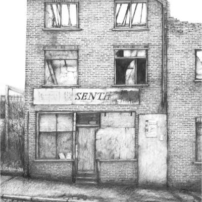 Brammeld, David ( ) - Derelict Newsagent's - Trent Art