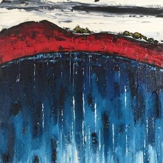 Capper, Steve (1944 – ) The Blue Lake II - Trent Art