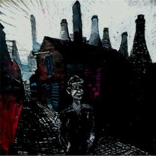 Pearsall, Ian R. (1967 – ) Forge Lane (Fenton, Stoke-On-Trent) - Trent Art