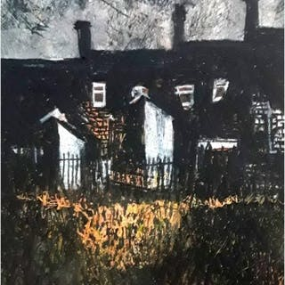 Pearsall, Ian R. (1967 – ) Last Ray of a Winter Sun (Hanley Terraces)