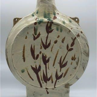 Malone, Jim (1946 – ) Stoneware Pilgrim Bottle - Trent Art