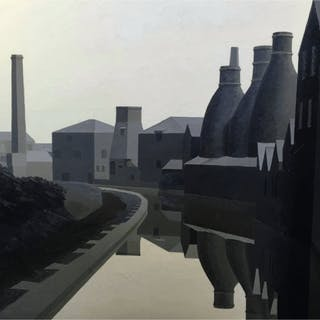 Wade, Maurice (1917 - 1991) Unicorn Pot Bank at Longport - Trent Art