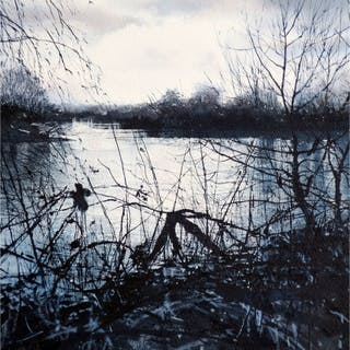 Walker, Deborah RI, RSMA (1963 - ) Winter Light - Trent Art