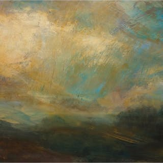 Boisseau, Annie RBA (1957 – ) Passing Clouds, Late Afternoon - Trent Art