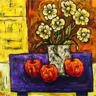 Capper, Steve (1944 - ) Still Life with Daisies - Trent Art