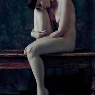 Hall, James (1954 - ) Folded Nude III - Trent Art