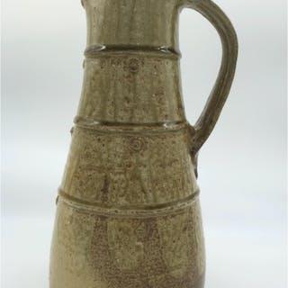 Malone, Jim (1946 – ) Stoneware Jug - Trent Art