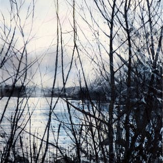 Walker, Deborah RI, RSMA (1963 - ) Winter Light II - Trent Art