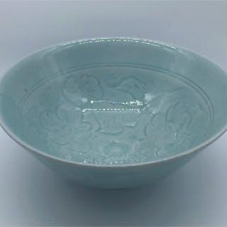 Frith, David & Margaret ( ) Carved Porcelain Bowl - Trent Art