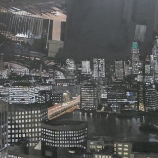 Chambers, Alison RBSA ( ) Reflections from the Shard - Trent Art