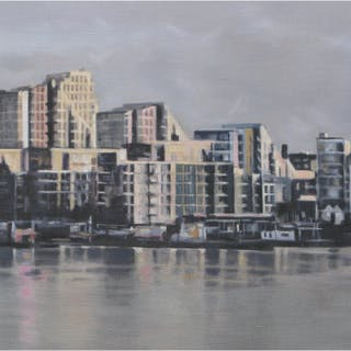 Chambers, Alison RBSA ( ) Winter Light Putney - Trent Art