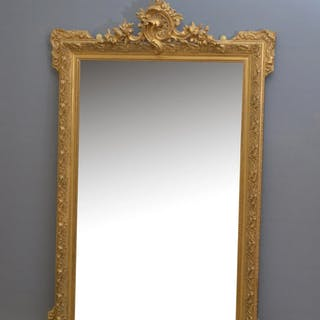 A Very Decorative Gilt Mirror - Nimbus Antiques