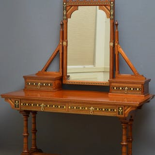 Gothic Revival Dressing Table - Nimbus Antiques