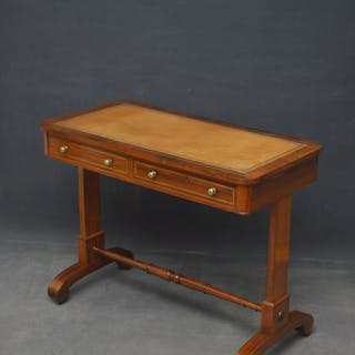 William IV Rosewood Writing Table - Nimbus Antiques