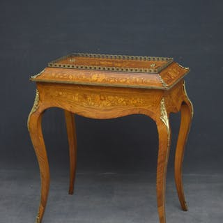 French Rosewood and Inlaid Jardiniere - Nimbus Antiques