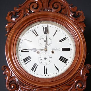 William IV, Scotish Longcase Clock A. Breckenridge, Kilmarock - Nimbus Antiques
