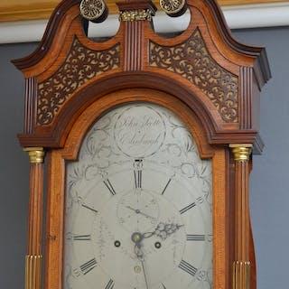 Georgian Longcase Clock by John Scott, Edinburgh - Nimbus Antiques