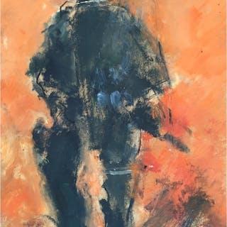 Howard, Ghislaine (1953 – ) Riot Policeman (365 Series) - Trent Art
